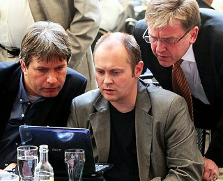 Jihomoravský hejtman Hašek a brněnský primátor Onderka průběžně kontrolují stoupající teploty v kraji.
