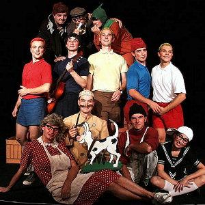 Na domovské scéně v Uherském Hradišti patří Rychlé šípy mezi nejúspěšnější komedie Slováckého divadla. Znalci Foglarových komiksů oceňují půvabně zpracované příběhy pětice vzorných hochů, zrádného Bratrstva kočičí pracky a dalších postav, které jako by z oka vypadly svým tištěným kamarádům.